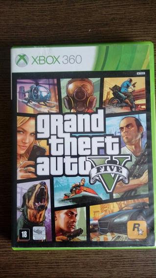 Gta V Grand Theft Auto Xbox 360 Cd Fisico