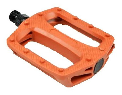 Imagen 1 de 6 de Pedales Plataforma Para Bmx Y Fixie - Rosca 9/16 - Plastico
