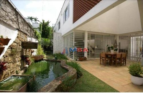 Imagem 1 de 21 de Casa Residencial À Venda, Pacaembu, São Paulo. - Ca0525