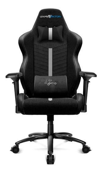 Silla Gamer Game Factor Full Xl +150kg Ergonomica Vorago 601