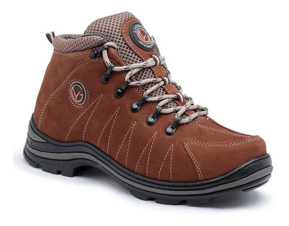 Sapato Bota Coturno Masculino Adventure Lughato 3010