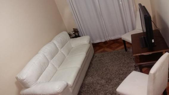 Apartamento 50m² Com 2 Dorms + 1 Vaga + Lazer E Mobiliado