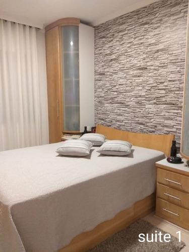 Imagem 1 de 17 de Apartamento À Venda, 98 M² Por R$ 583.000,00 - Vila Valparaíso - Santo André/sp - Ap61198