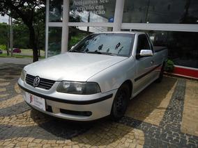 Volkswagen Saveiro 1.8 Gasolina Prata 2001