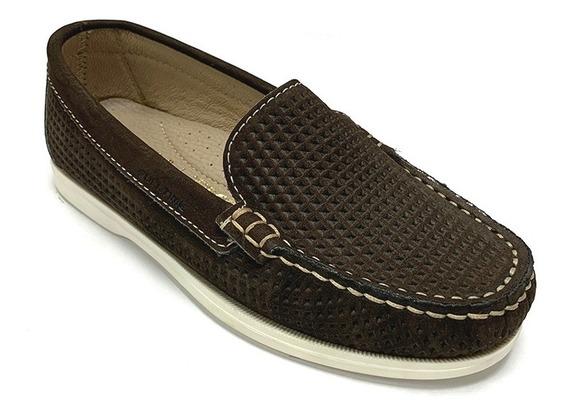 Zapatos Mocasines Full Time Niño Azul Ft 9312 Corpez 39