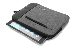 Funda Tablet Notebook Zom 10 Tela Espumada Cierre Zf10 200j