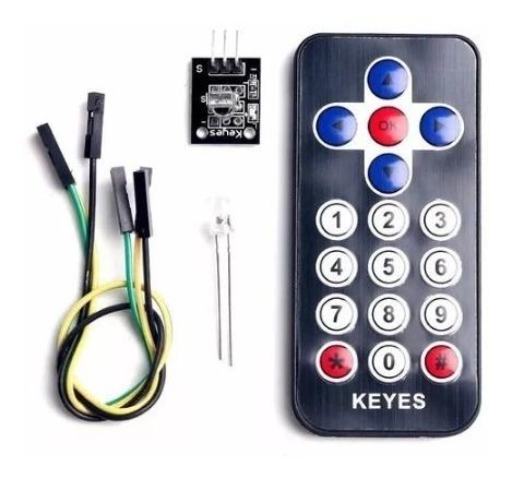 Controle Remoto Infravermelho Modulo Rx Tx P/ Arduino Pic