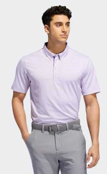 Playera Polo adidas Adipure (talla L) 100% Original Golf Akw