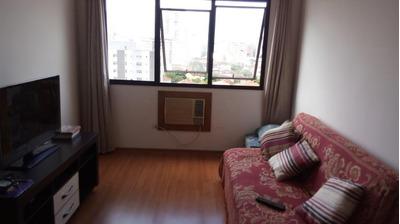 Apartamento Em Marapé, Santos/sp De 87m² 2 Quartos À Venda Por R$ 400.000,00 Ou Para Locação R$ 2.300,00/mes - Ap221006lr