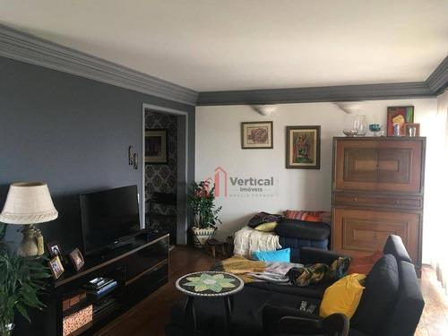 Apartamento À Venda, 147 M² Por R$ 730.000,00 - Tatuapé - São Paulo/sp - Ap5986