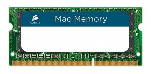 Imagen 1 de 3 de Memoria RAM Apple SODIMM color Verde  4GB 1 Corsair CMSA4GX3M1A1333C9