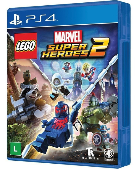 Lego Marvel Super Heroes 2 (mídia Física) Ps4 (novo,lacrado)