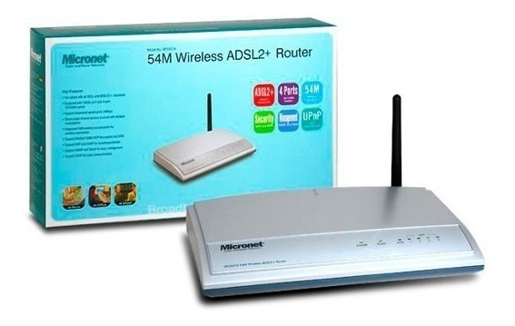 Router Adsl 2 Wifi Micronet Sp3367