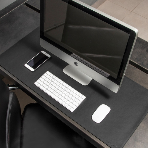 Imagem 1 de 10 de Desk Pad Bullpad 90x40cm Em Couro Sintetico