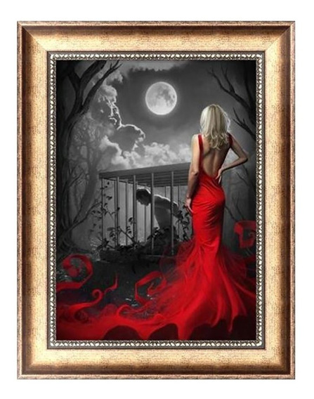 9896 5d Pintura Mágica Diamante Pintura Padrão Beleza Bordad