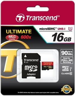 Cartão 16gb Microsdhc Classe 10 Ultimate - Kit 10 Unid