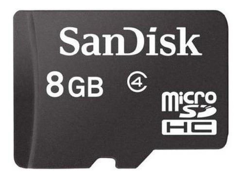 Imagem 1 de 2 de Cartão De Memória Sandisk 8gb Micro Sd Original