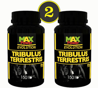 02 Tribulus Terrestris Maxpower 63% 150 Caps Cd Frete Grátis