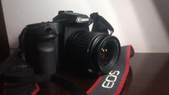 Câmera Canon 50d Com Lente Canon 28 90 Leia A Descrição