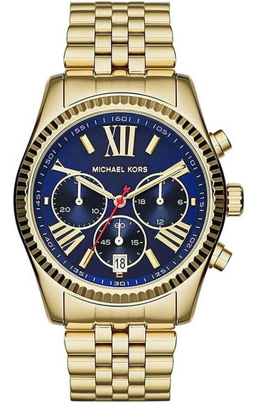 Relógio Feminino Michael Kors Mk61655/4an Dourado