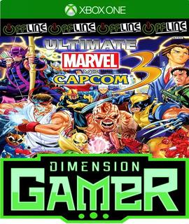 Ultimate Marvel Vs. Capcom 3 - Xbox One No Codigo Off-line