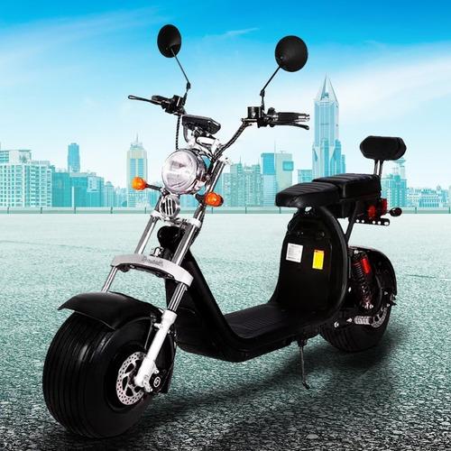 Imagen 1 de 4 de Moto Scooter Eléctrico Doble Suspensión Citycoco X9