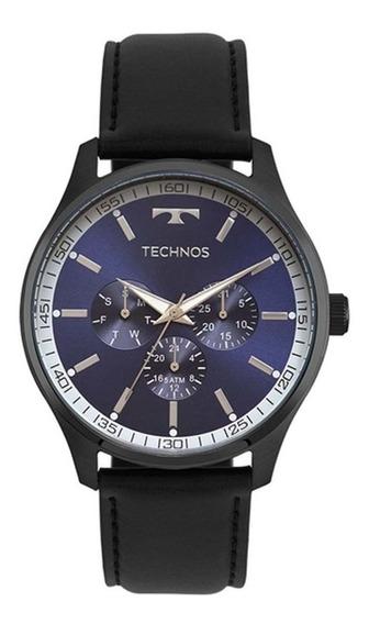 Relogio Technos 6p29ajp/2a Masculino Aço Inox | Novo
