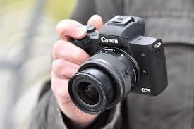 Canon Câmera Photo Eos M50 24.1mp 3.0 Lente Ef-m 15-45mm