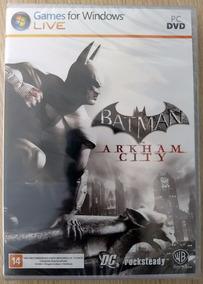 Batman Arkham City Original Pc Midia Fisica Lacrado