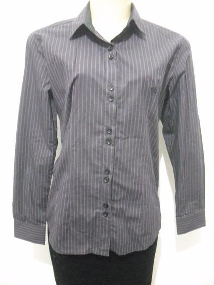 Blusa Camisete Listrado Preto Les Chemises G 44 Bom Estado