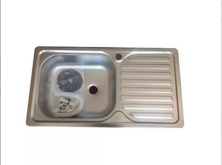 Lavaplatos Empotrable Fondo Simple 80x44cm. Nuevos. 10% Dcto