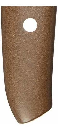 alto carbono borde hueco madera marr/ón acero inoxidable W/üsthof 3983-7 Epicure Santoku