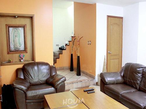 Imagen 1 de 25 de Casa En Renovación, Iztapalapa Con 3 Recámaras, 120 M², Id: 39363
