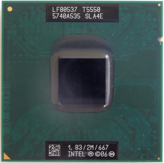 Processador 1.83gh Intel Core 2 Duo T5550 Sla4e