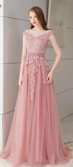 Vestido De 15 Años Color Rosa