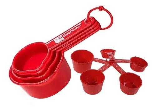 Juego Set 5 Cucharas Tazas Medidoras Para Reposteria Cocina