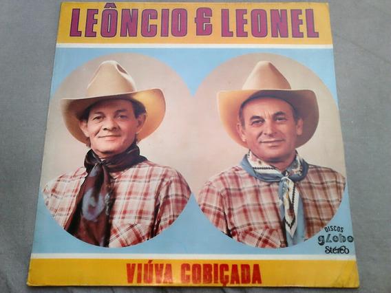 Lp Disco Vinil Leôncio E Leonel - Viúva Cobiçada