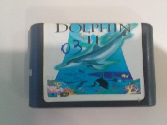 Jogo Mega Drive Ecco The Dolphin 2 Paralelo Frete Grátis