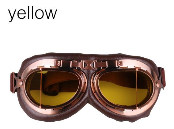 Óculos De Motocicleta Clássico Anti-uv Multicolor Motocross