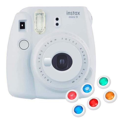 Câmera Instantânea Instax Mini 9 Com 6 Filtros C/ Nfe - Gelo
