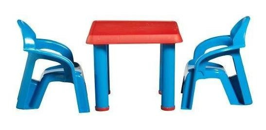 Set Mesa Y Sillas Plásticas (envío Gratis)-american Plastic