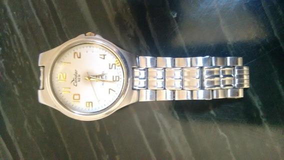 Relógio Original Condor New Prata Usado - Necessita Reparos