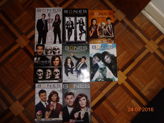Série Bones 1,2,3,4 Temporadas Completas
