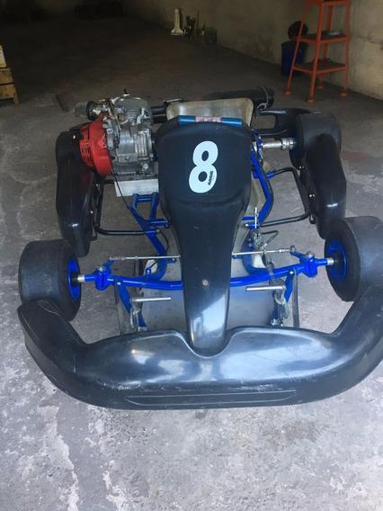 Kart Mini Com Motor Honda De 11hp
