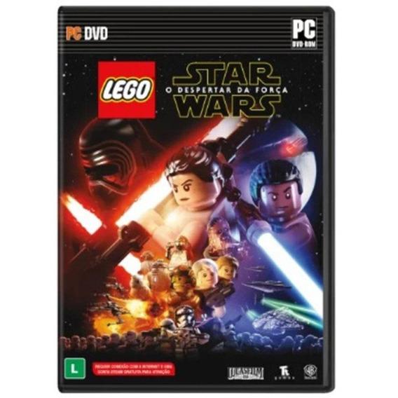 Jogo Star Wars Lego Pc Mídia Física Dublado Lacrado Original