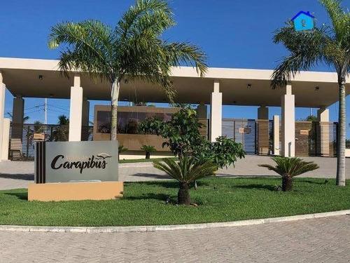 Terreno No Condomínio Villas De Carapibus - Te0778