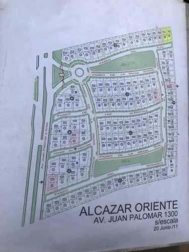 Hermoso Venta De Terreno En Alcázar Oriente.