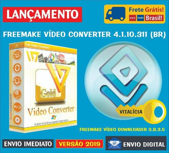 Freemake Video Converter + Video Downloader Chave Vitalícia