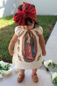 443e93537 Lote 20 Vestidos Virgen De Guadalupe Para Niña