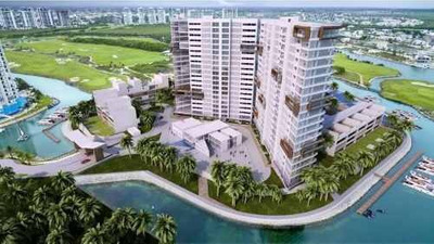 Departamento En Centro De Puerto Cancun Para Inversión